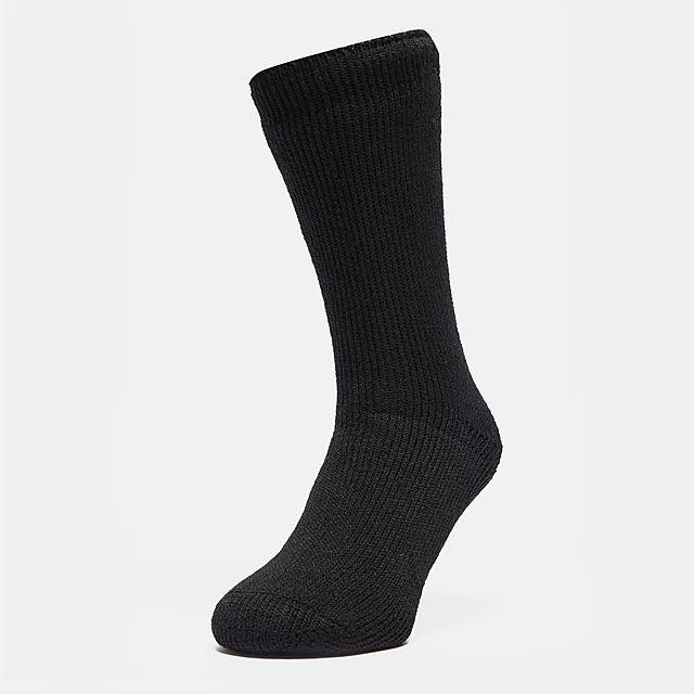 HEAT HOLDERS Women's Original Thermal Socks, BLK/BLK