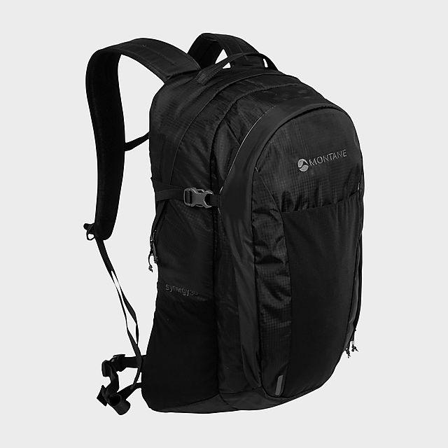 Montane Synergy 30L Backpack, BLACK/BLACK