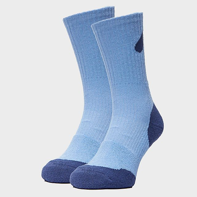 Peter Storm Women's Double Layer Socks - 2 Pack, LBL/LBL