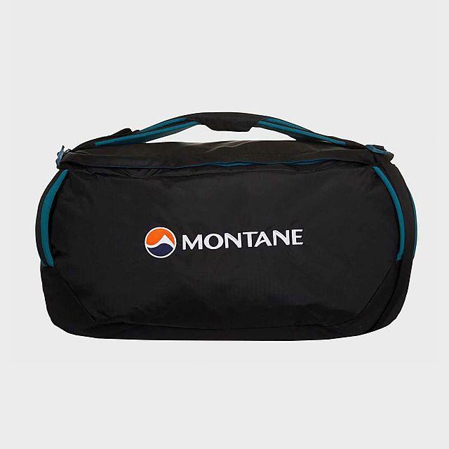 Montane Transition 60 Holdall, Black/Black