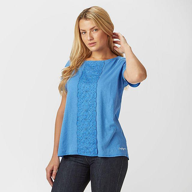 Craghoppers Women's Connie T-Shirt, Blue