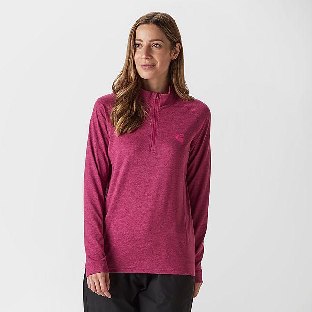 Sprayway Women's Tiana Quarter-Zip Fleece, PNK$/PNK$