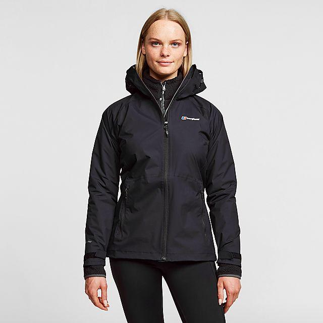 Berghaus Women's Stormcloud Waterproof Jacket, BLACK/WMNS