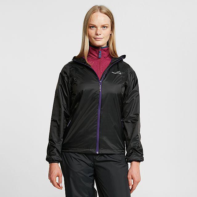 FreedomTrail Women's Tempest Waterproof Jacket, BLACK/WMNS