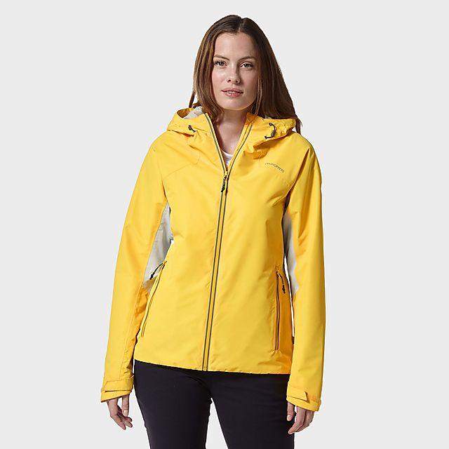 Craghoppers Women's Horizon Waterproof Jacket, YELLOW/WMNS