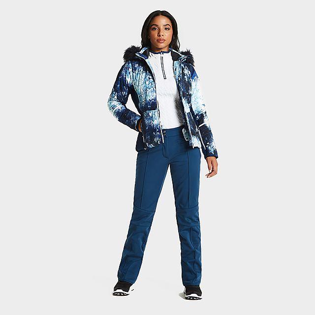 DARE 2B Women's Clarity Luxe Ski Pants, NAVY/WMNS