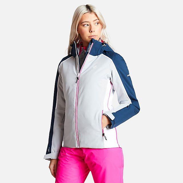 DARE 2B Women's Comity Ski Jacket, GREY/WMNS