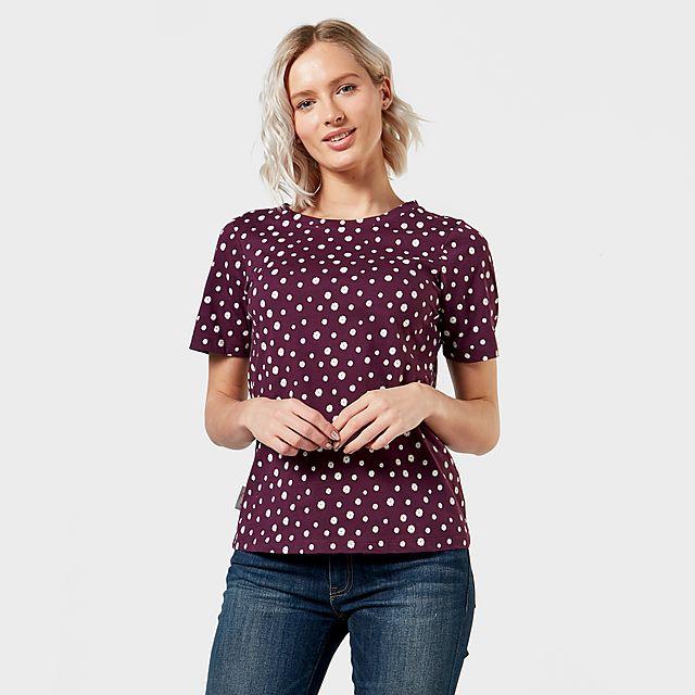 Peter Storm Women's Angel Pattern T-Shirt, PPL/PPL