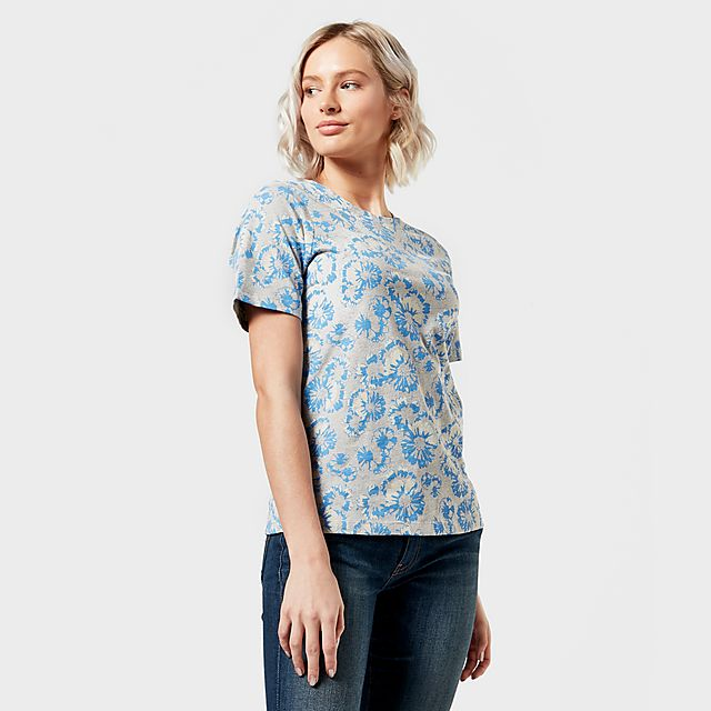 Peter Storm Women's Angel Pattern T-Shirt, BLU/BLU
