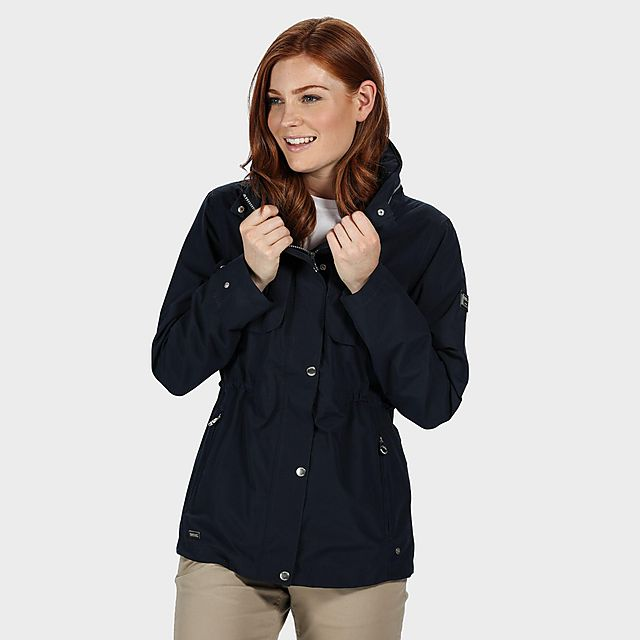 Regatta Women's Narelle Waterproof Jacket, NAVY/NAVY