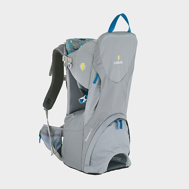 LITTLELIFE Explorer S3 Child Carrier, GREY/NO