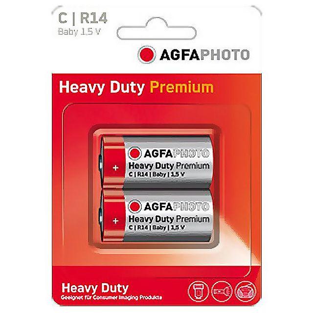 Image of AGFA Zinc Carbon C Batteries (2 pack)