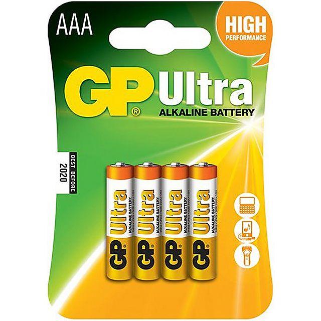 Image of GP BATTERIES Ultra Alkaline Batteries (24 x AAA)