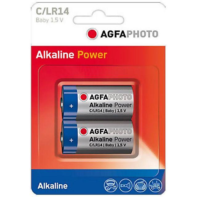 Image of AGFA C Digital Alkaline Battery (2 pack)