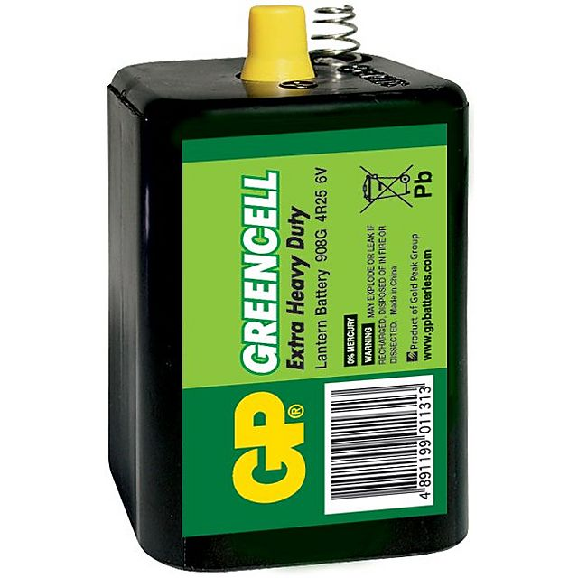 Image of GP BATTERIES Greencell Lantern Battery