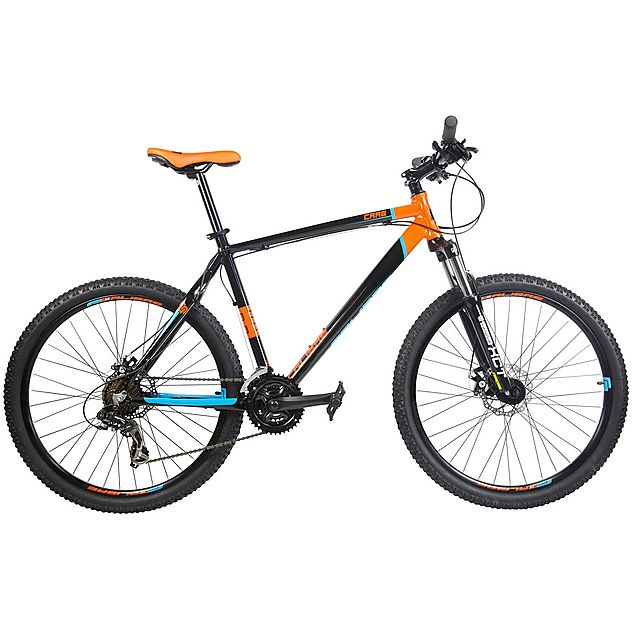 CALIBRE Crag 2 Mountain Bike, BLACK-ORANGE