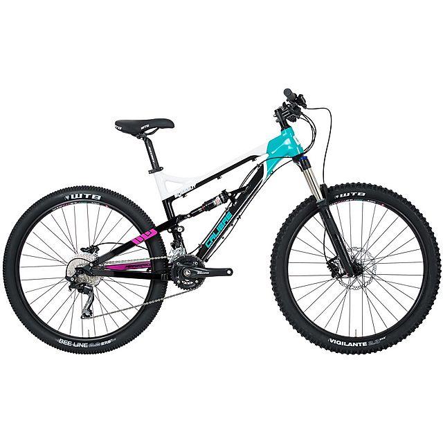 CALIBRE Bossnut Ladies Mountain Bike, BLACK-WHITE