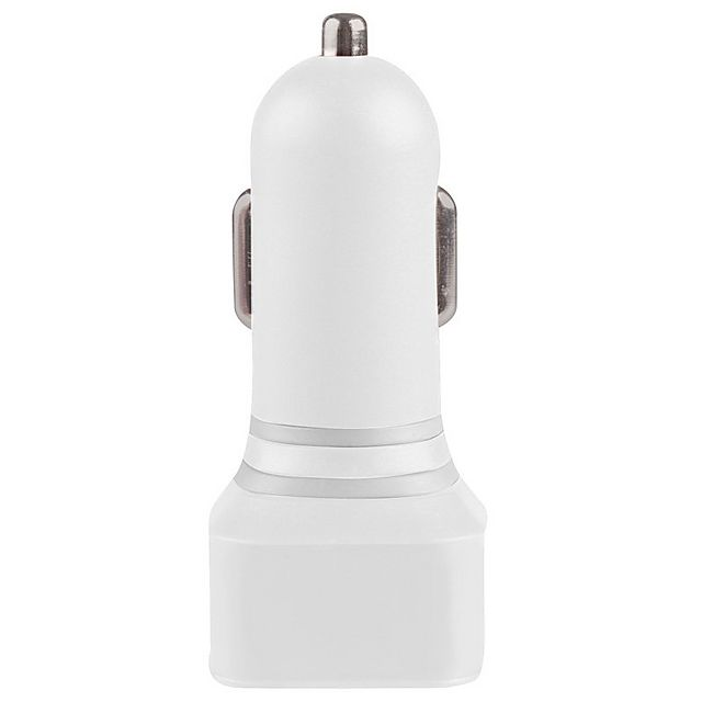 Image of ALTEC LANSIN Dual USB Car Charger (2.1 Amp), WHITE