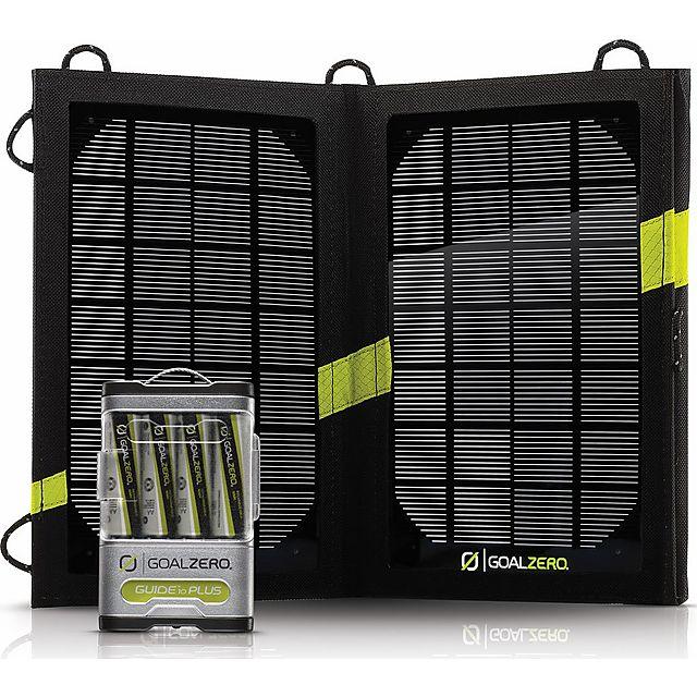 Image of GOAL ZERO Guide 10 Plus & Nomad 7 Plus Solar Kit