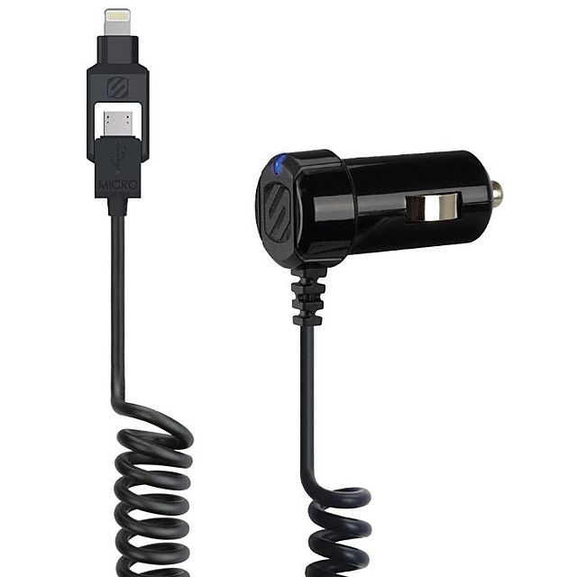 Image of SCOSCHE StrikeDrive Smart 12W Car Charger