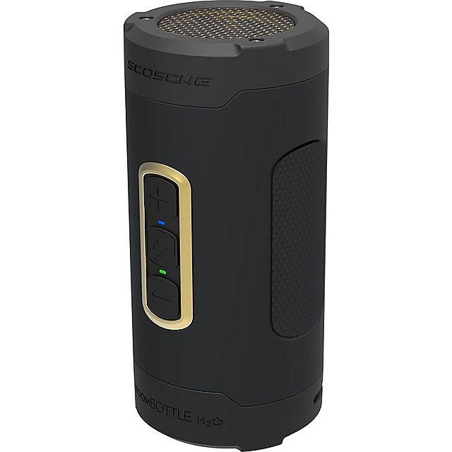 Image of SCOSCHE boomBOTTLE H2O+ Speaker, GOLD BLACK