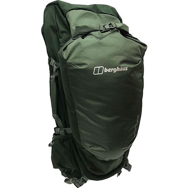 Berghaus Trailhead/Motive Travel 60 + 20 Rucksack, GREEN/PLUS