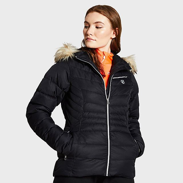 DARE 2B Women's Glamorize Ski Jacket, NAVY/WMNS