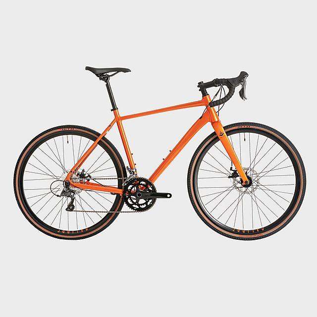 CALIBRE Dark Peak Road Bike, Orange/ORG