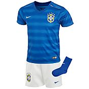 Nike Brazil 2014 Infant Away Kit