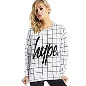 Hype Grid Sweatshirt
