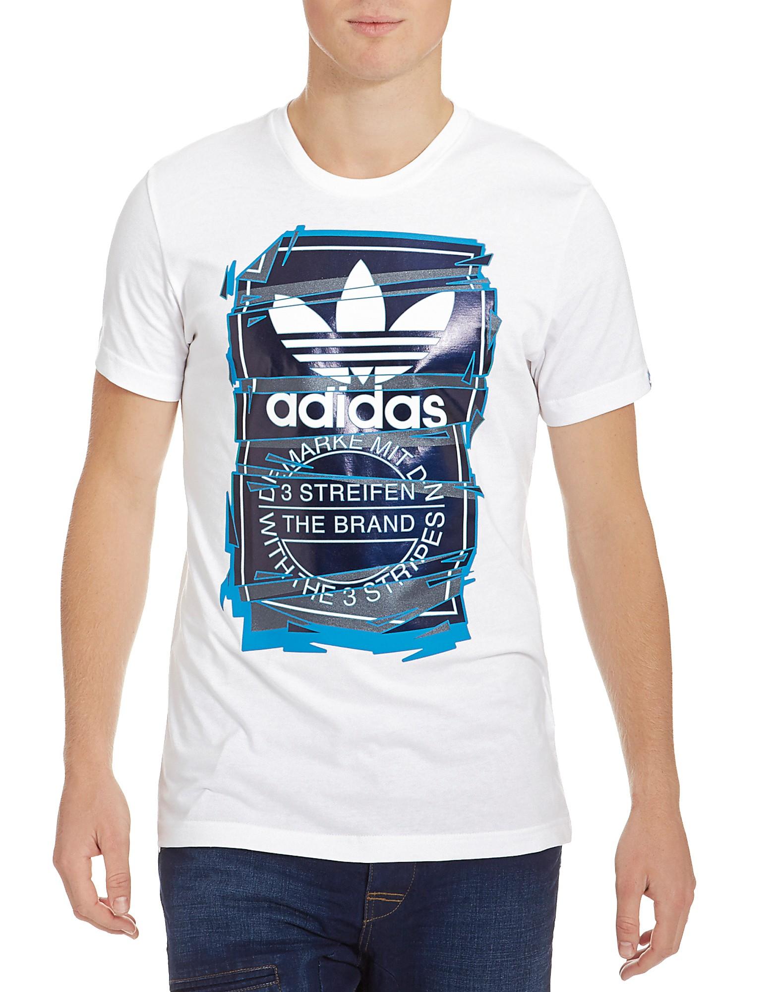 Trefoil Foil T-Shirt