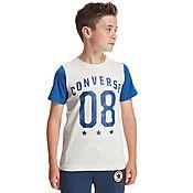 Converse 08 Colour Block T-Shirt junior
