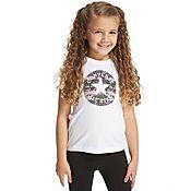 Converse Chuck Rose T-Shirt Children