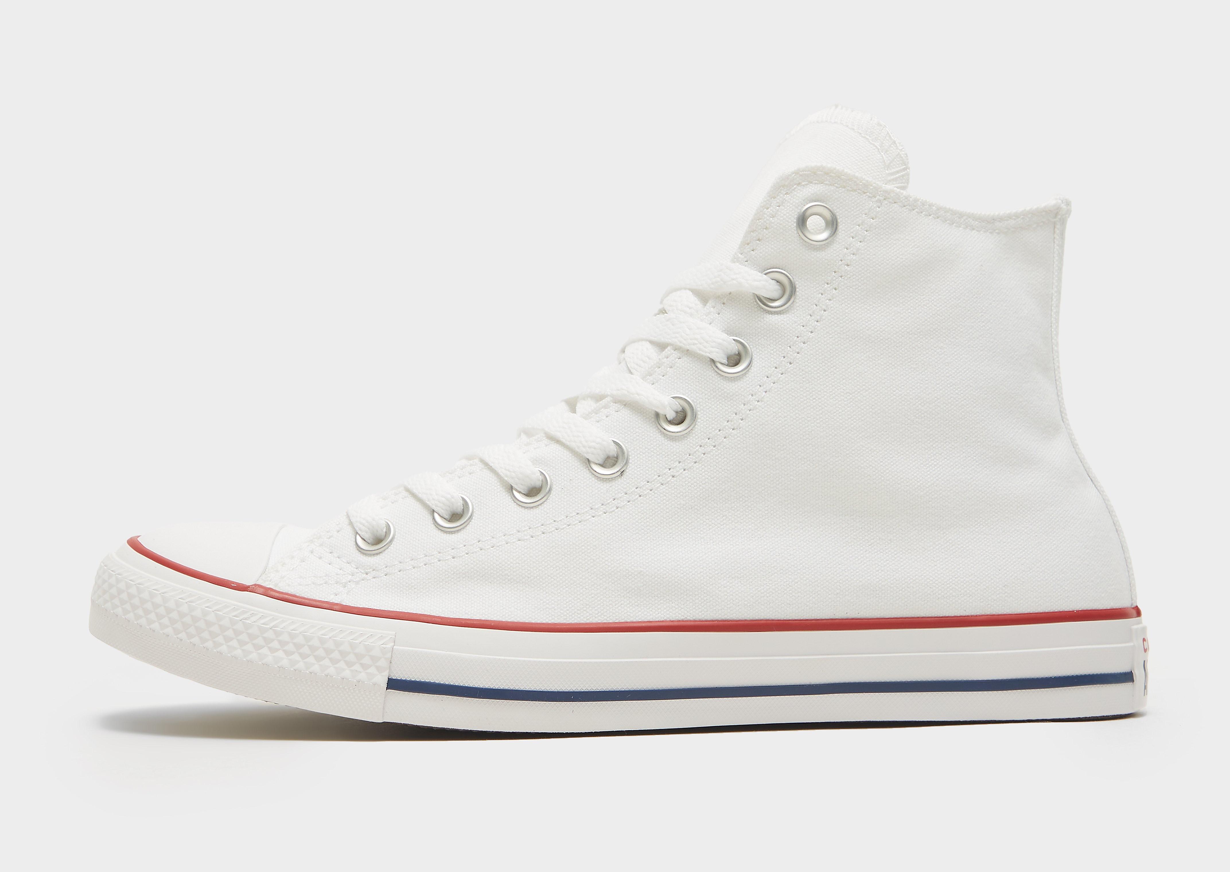 Converse All Star Hi - White - Mens, White