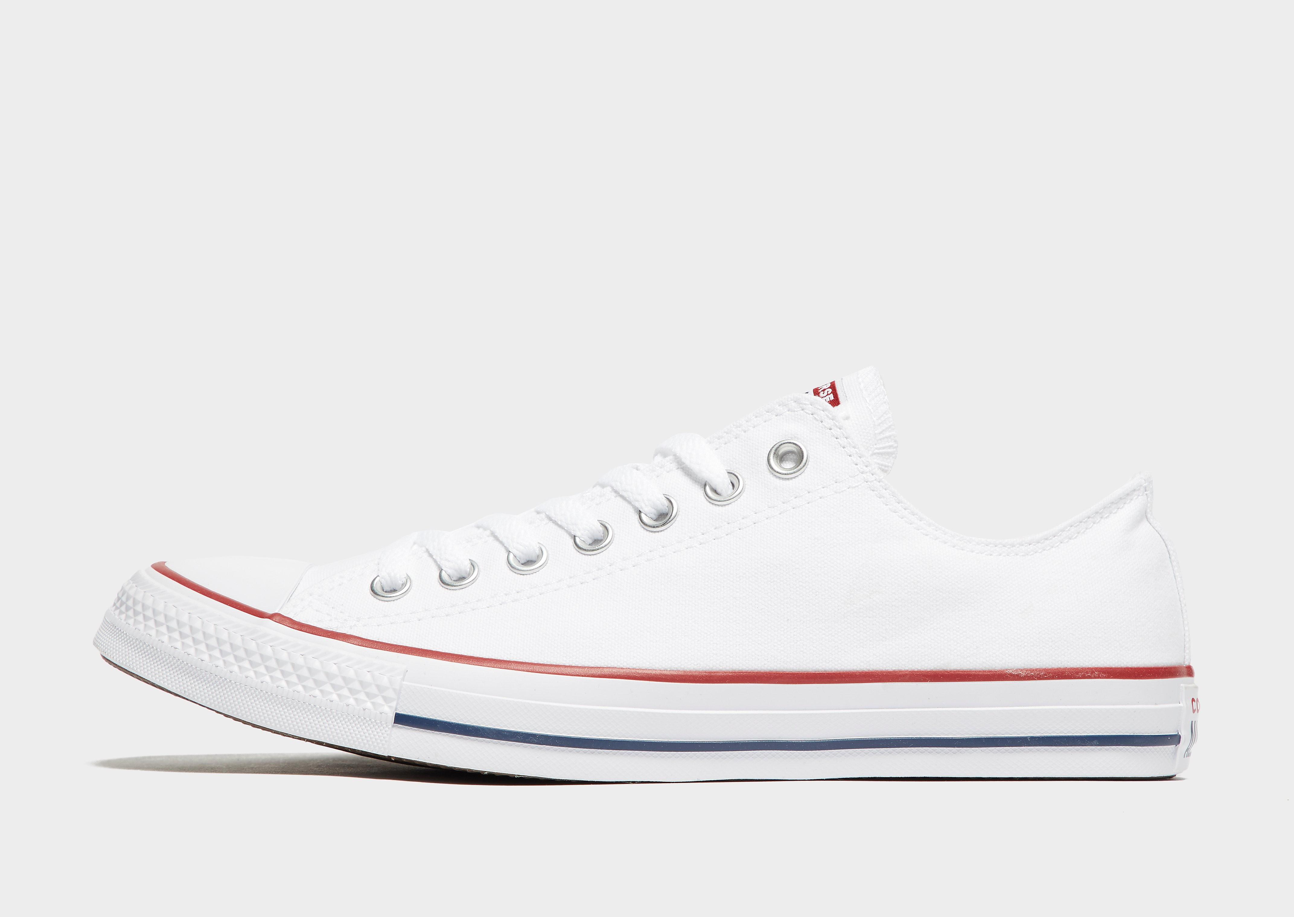 Converse All Star Ox - White - Mens, White