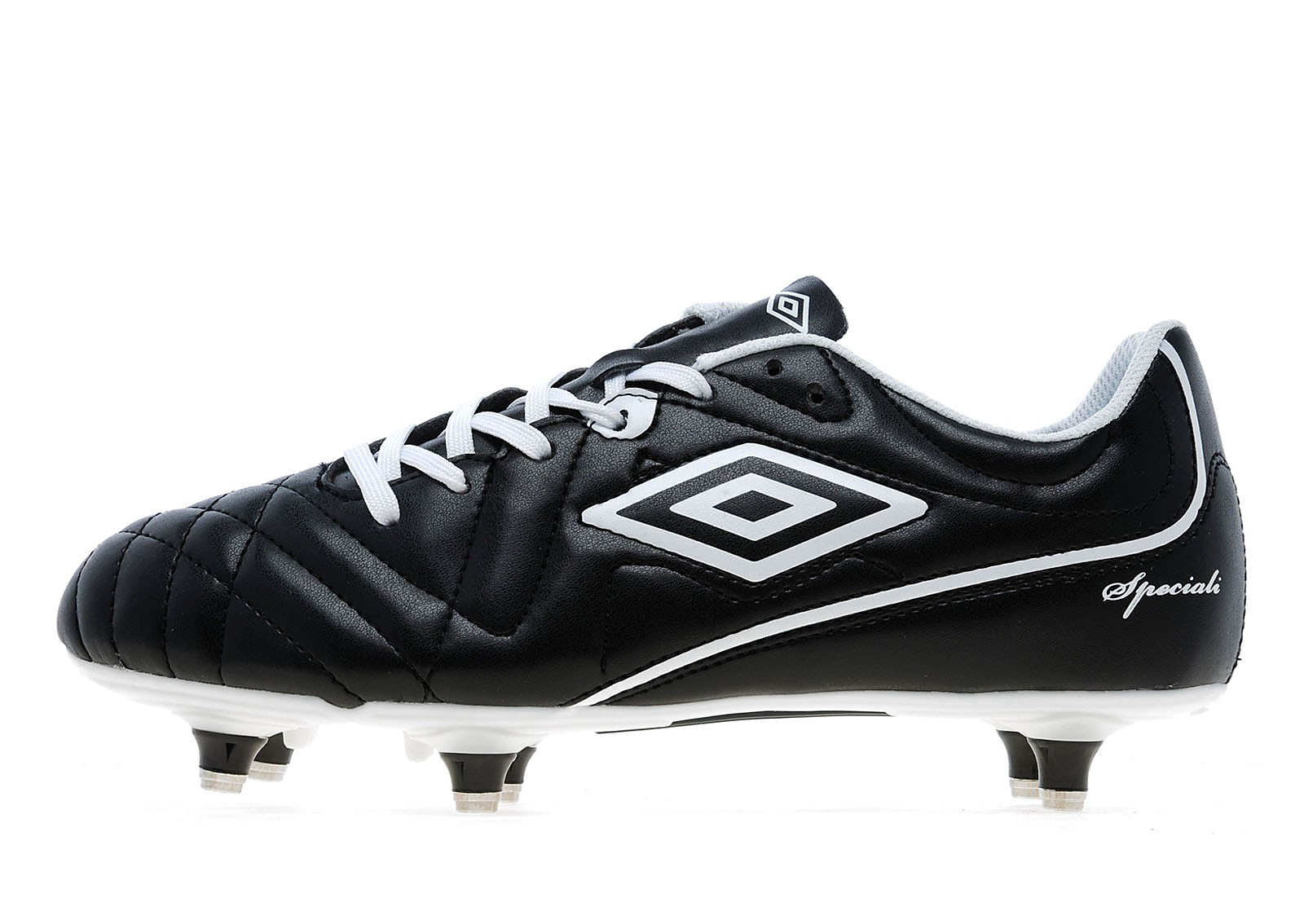 Mens Umbro Speciali 4 Club Soft Ground Black/White