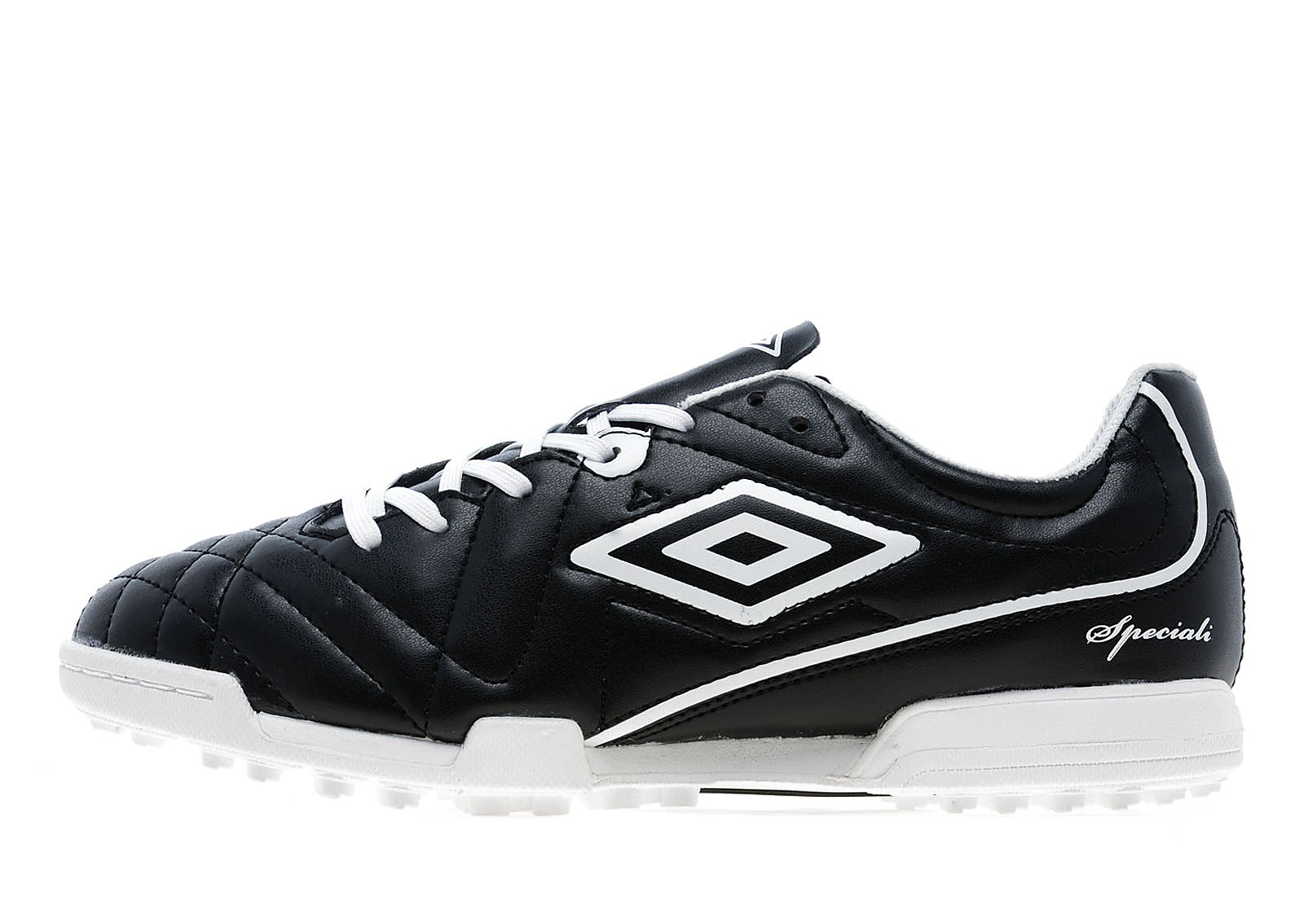 Mens Speciali Club 4 Astro Turf Black/White