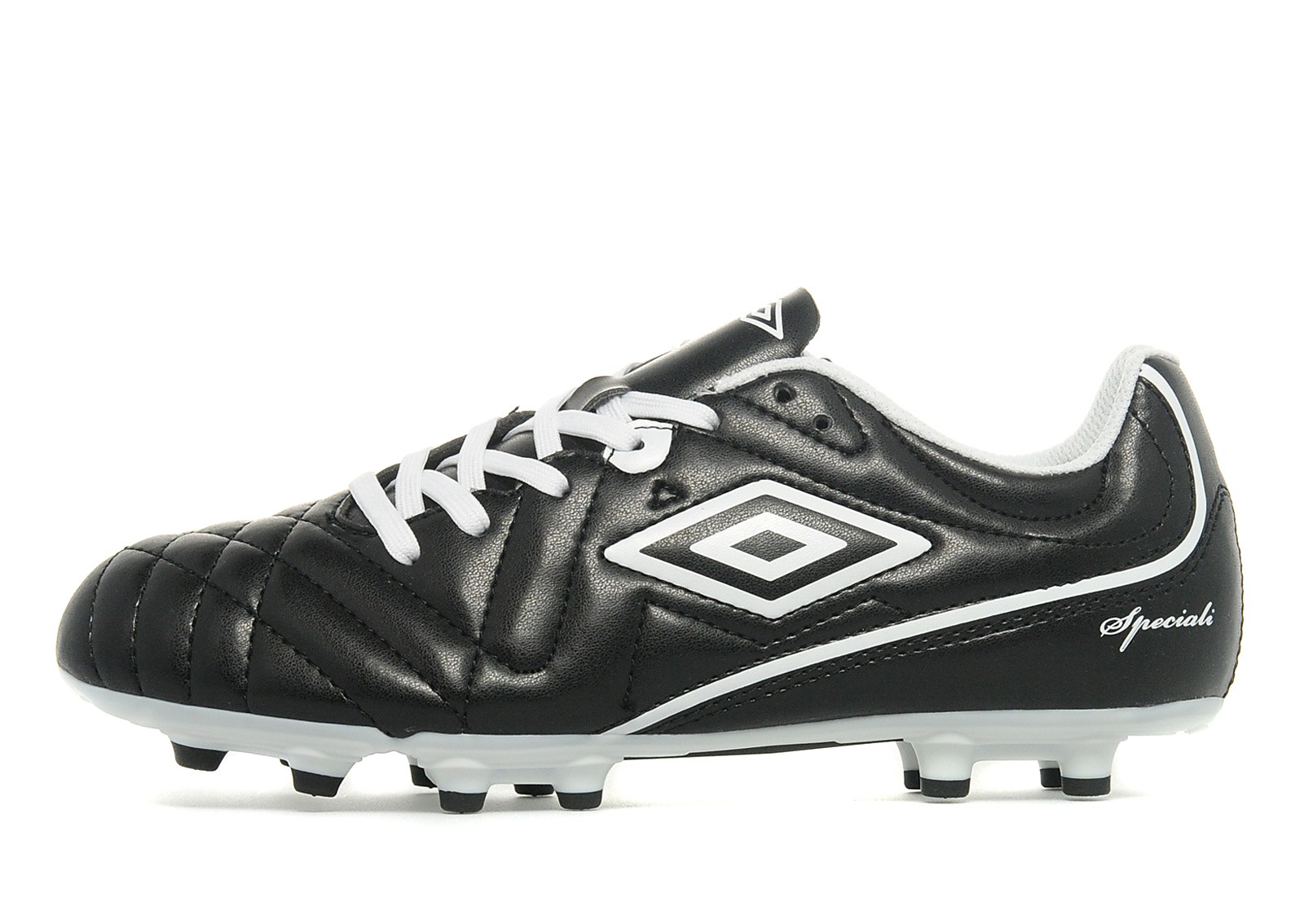 Kids Umbro Speciali 4 FG Junior Black/White