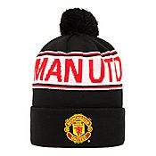 Official Team Manchester United Text Bobble Hat