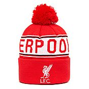 Official Team Liverpool FC Text Bobble Hat