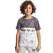 Hype Speckle Fade T-Shirt Children