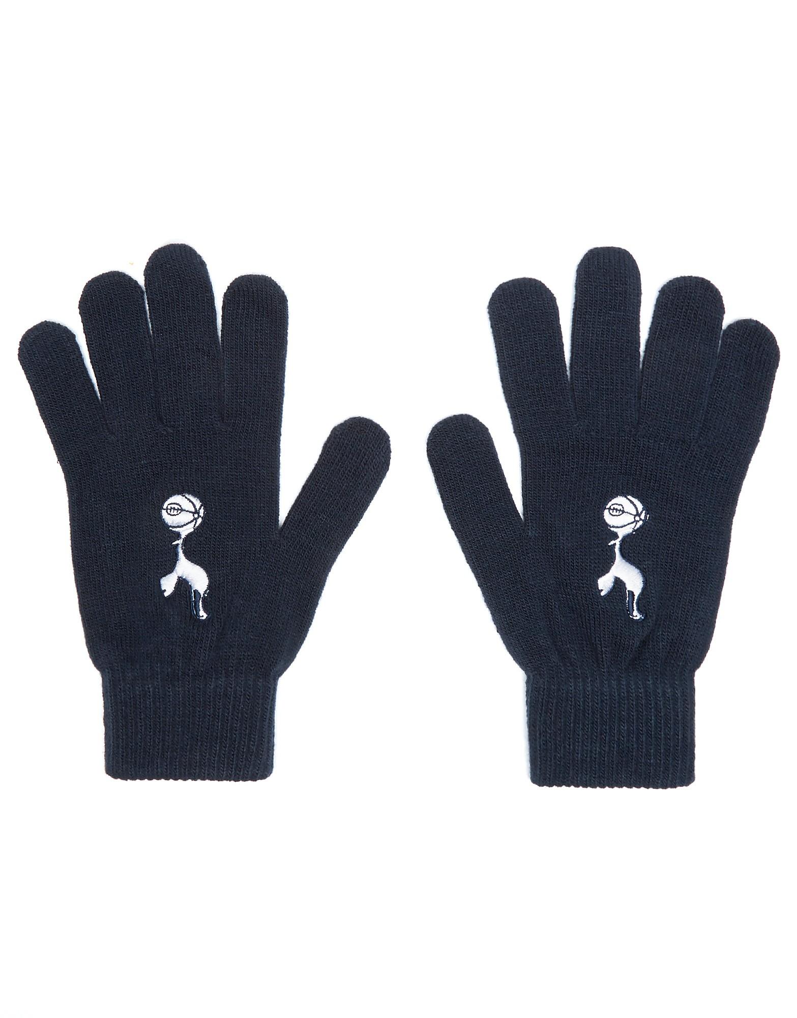 Official Team Tottenham Hotspur FC Gloves - Navy - Mens, Navy