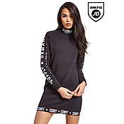 Supply & Demand Barcode Sweater Dress