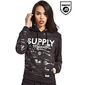 Supply & Demand Black Camo Hoody