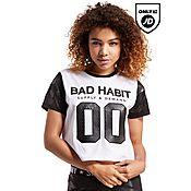 Supply & Demand Bad Habit Number Crop T-Shirt