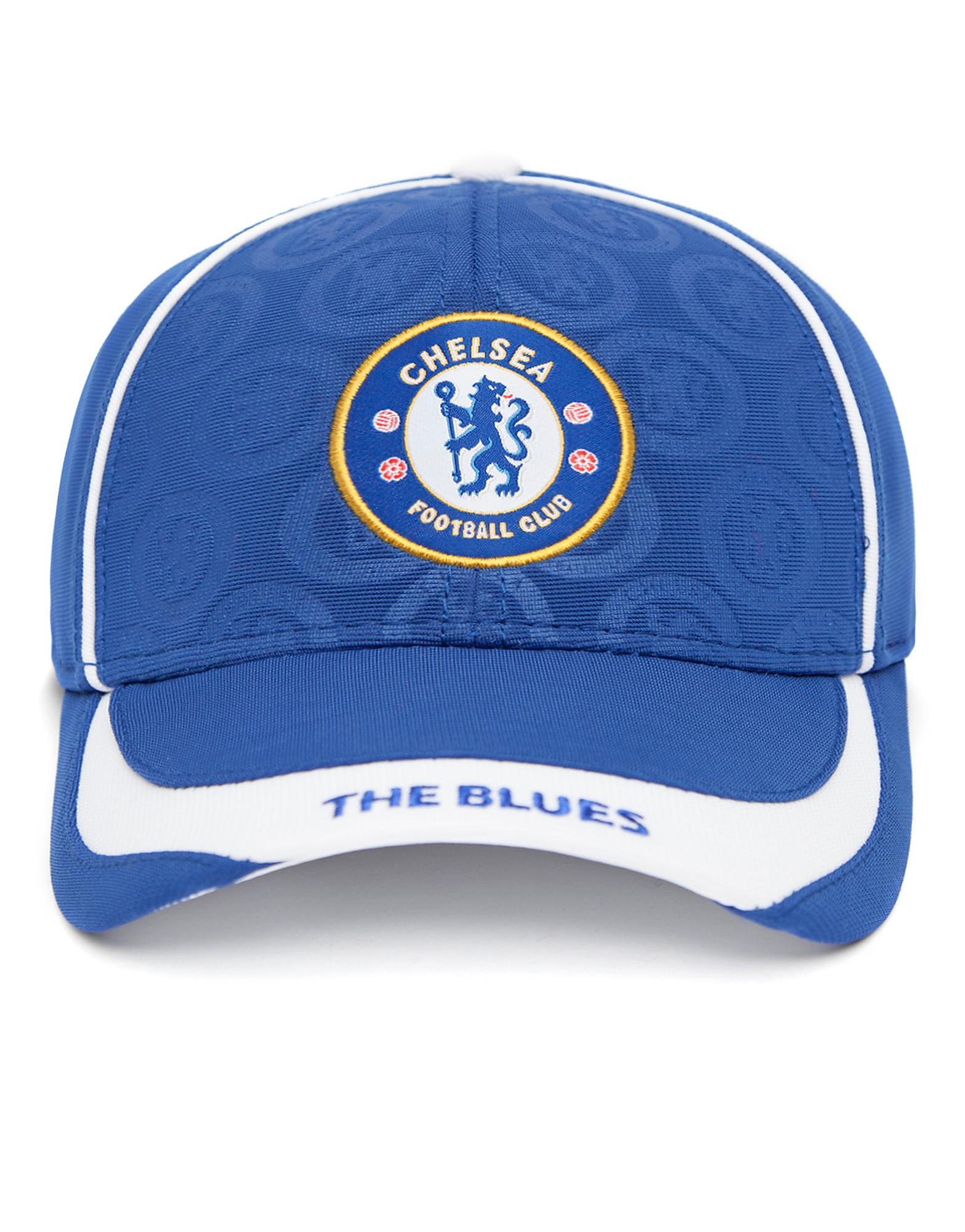 Official Team Chelsea FC Deboss Cap - Royal Blue - Mens, Royal Blue
