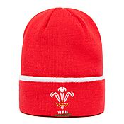 Official Team Welsh Rugby Union Cuff Knitted Hat