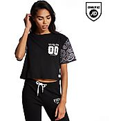 Supply & Demand Paisley Crop T-Shirt