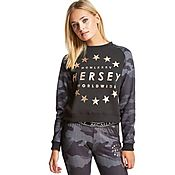 Beck and Hersey Harleton Crop Crew Sweatshirt