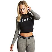 Beck and Hersey Pembroke Crop Longsleeve T-Shirt